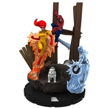 Marvel HeroClix: Spiderman and his Amazing Friends Team Base