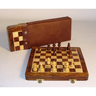 10 In Magnetic Folding Chess Set W.Pouch