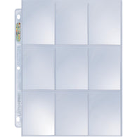 9 Pocket Card Pages (100)