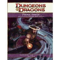 Dungeons and Dragons RPG: Psionic Power Hardcover