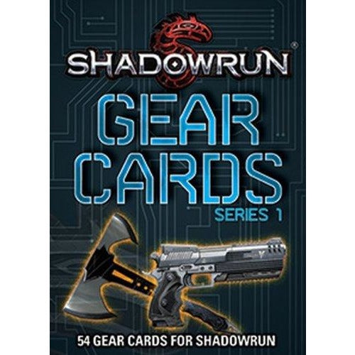 Shadowrun RPG: Gear Cards V1