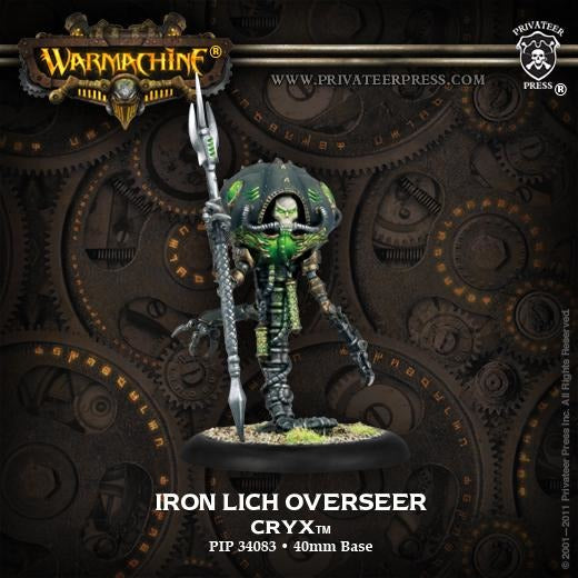 Warmachine: Cryx Iron Lich Overseer Solo