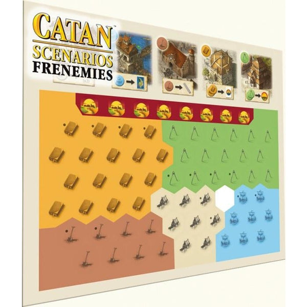 Settlers of Catan Scenarios: Frenemies of Settlers of Catan