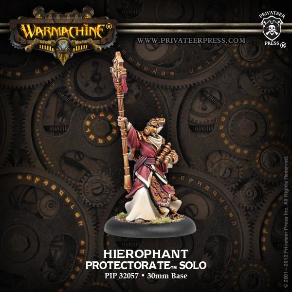 Warmachine: The Protectorate of Menoth Hierophant Solo