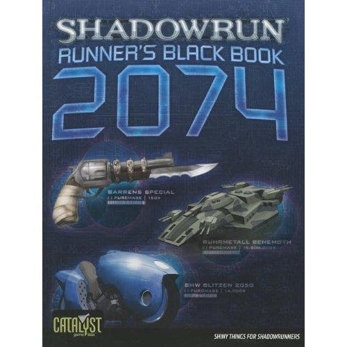 Shadowrun RPG: Runners  Black Book 2074