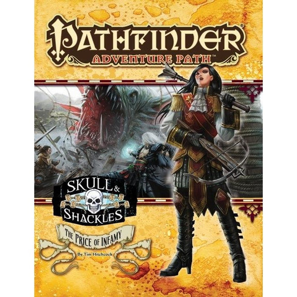 Pathfinder Adventure Path: Skull and Shackles Part 5 - Price of Infamy