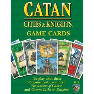 Settlers of Catan: Cities and Knights Replacement Card Deck