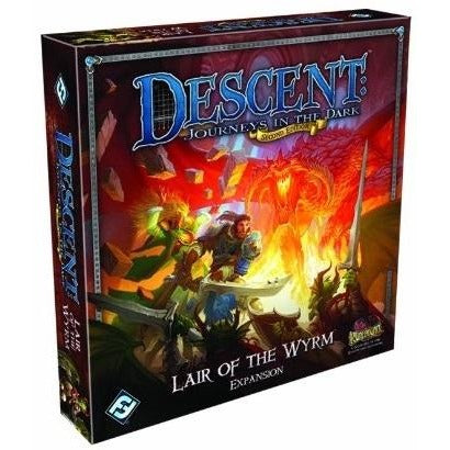 Descent Journeys in the Dark 2nd Edition: Lair of the Wyrm Expansion