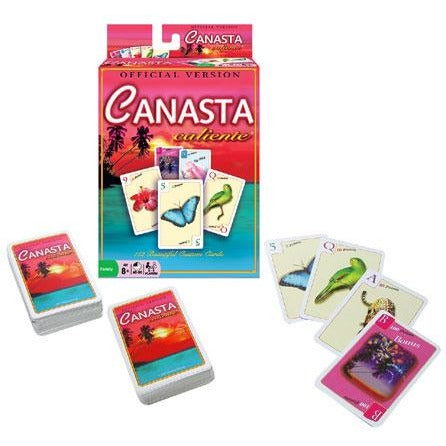 Canasta Caliente Card Game (Revised Edition)