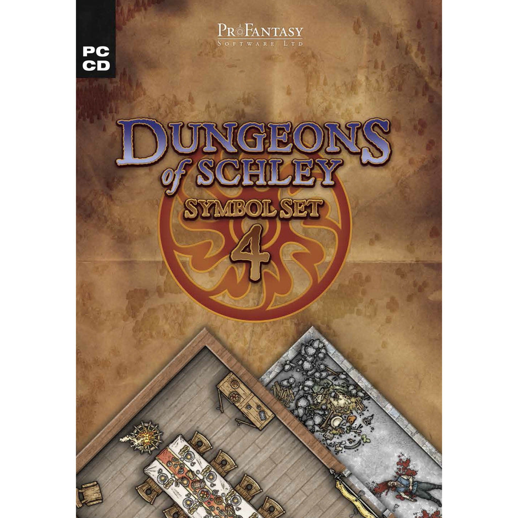 Campaign Cartographer 3: Symbol Set 4 - Dungeons of Schley