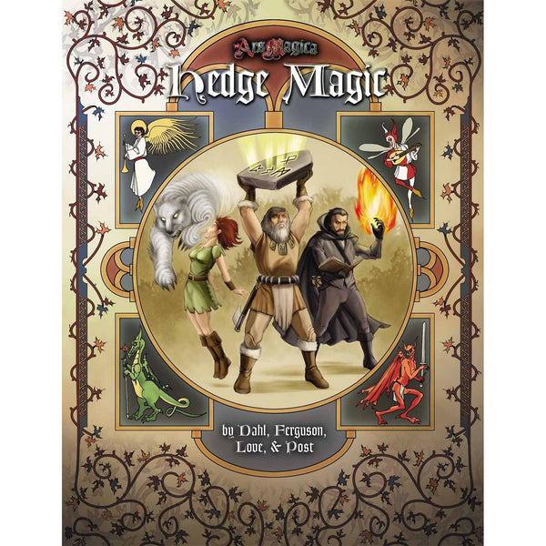 Ars Magica: Hedge Magic Revised 5th Edition Hardcover