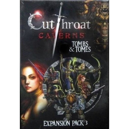 Cutthroat Caverns: Tombs and Tomes Expansion 3