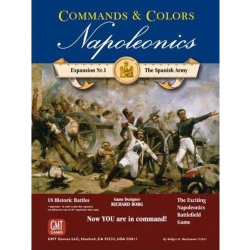 Commands and Colors: Napoleonics Expansion #1 - The Spanish Army