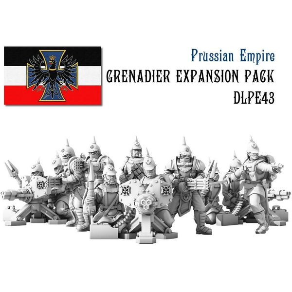 Dystopian Legions: Prussian Empire Grenadier Infantry Expansion Set