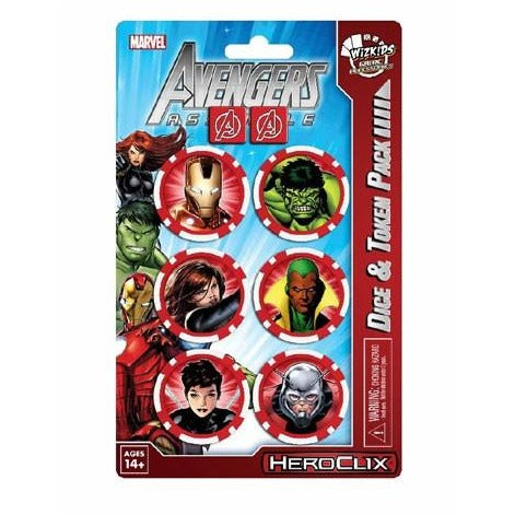 Marvel HeroClix: Avengers Assemble Dice and Token Pack Iron Man