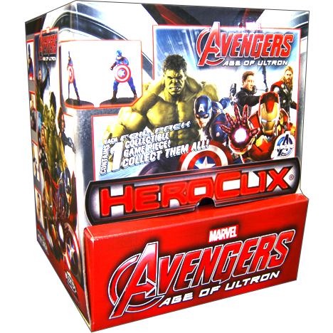 Marvel HeroClix: Avengers Age of Ultron Movie 24 ct Gravity Feed
