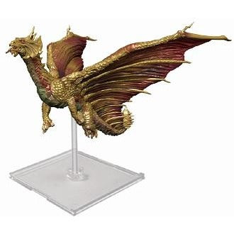 Dungeons and Dragons Attack Wing: Premium Brass Dragon Figure