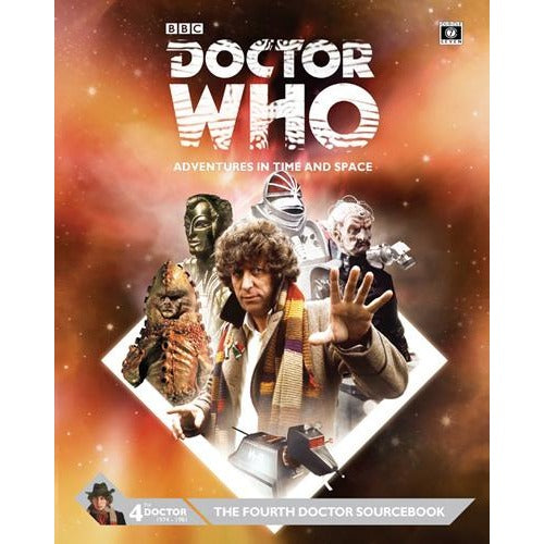 Doctor Who RPG: The Fourth Doctor Sourcebook Hardcover