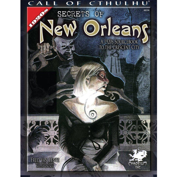 Call of Cthulhu: Secrets of New Orleans
