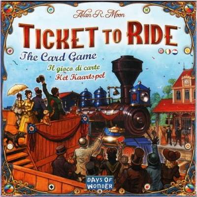 Ticket To Ride: Card Game (English, French, German Language)