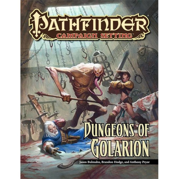 Pathfinder Campaign Setting: Dungeons of Golarion