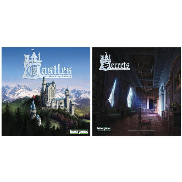 Castles of Mad King Ludwig Bundle: Core Plus Secrets Expansion