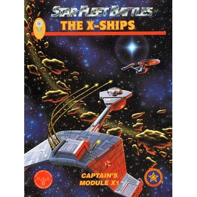 Star Fleet Battles: Module X1 - X Ships