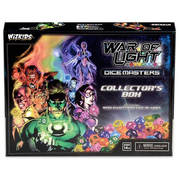 DC Dice Masters: War of Light Collectors Box