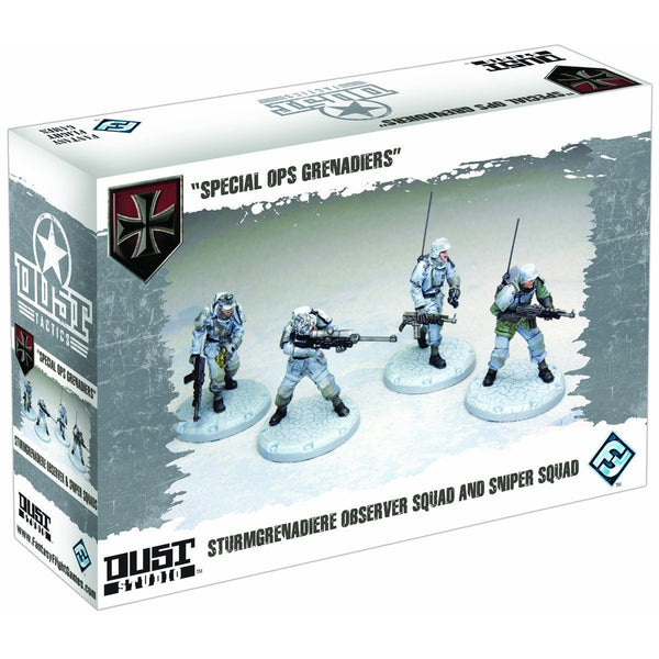 Dust Tactics: Special Ops Grenadiers