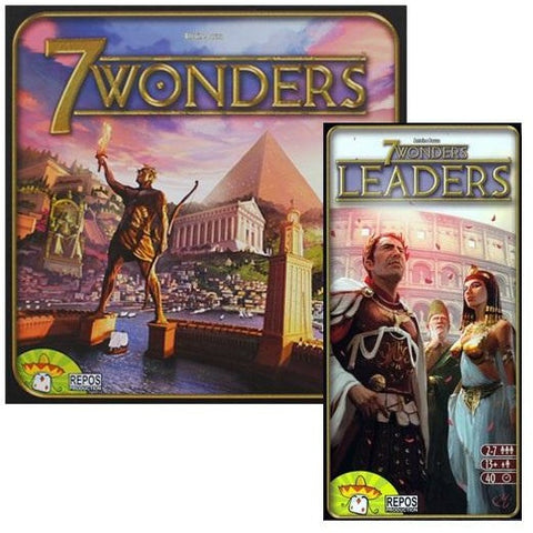 7 Wonders Bundle: 7 Wonders Plus Leaders Expansion