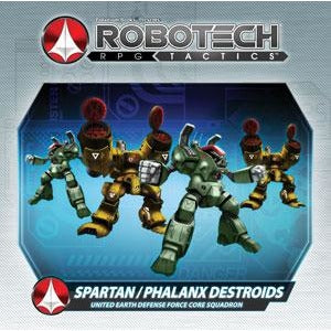 Robotech RPG Tactics: United Earth Defense Force Spartan Pack