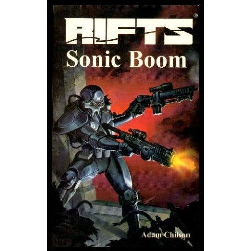 Rifts: Novel One Sonic Boom