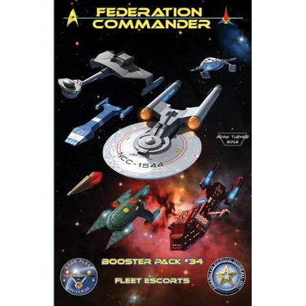 Federation Commander: Booster 34