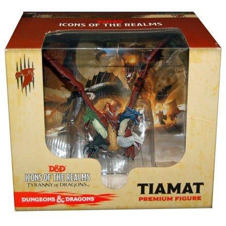 Dungeons and Dragons Fantasy Miniatures: Icons of the Realms Tiamat