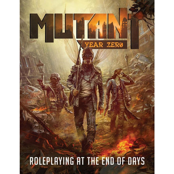 Mutant: Year Zero RPG - Core Rules Hardcover