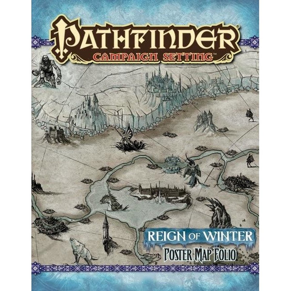 Pathfinder Campaign Setting Map Folio: Reign of Winter Poster