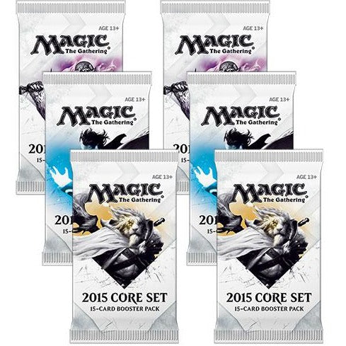 Magic the Gathering Bundle: 6 X 2015 Core Set Booster Packs