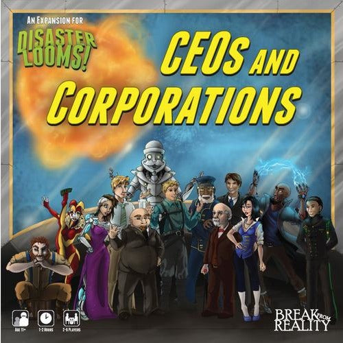Disaster Looms!: CEOs and Corporation
