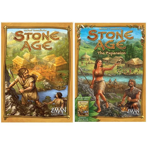 Stone Age Bundle: Core Plus Expansion