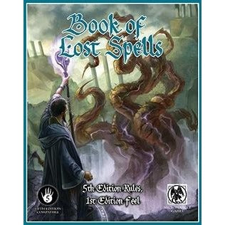 Dungeons and Dragons RPG: Book of Lost Spells (blue border)