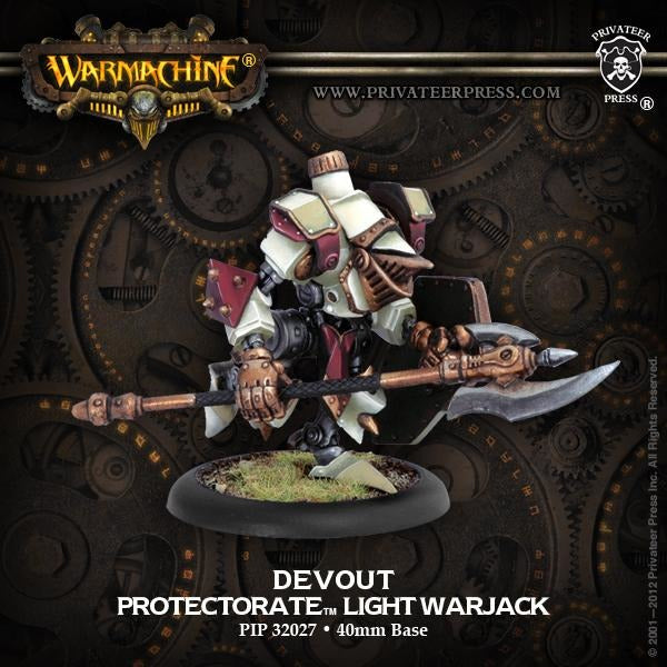 Warmachine: The Protectorate of Menoth Devout Light Warjack