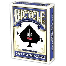 Bicycle 8-Bit Playing Cards Blue G