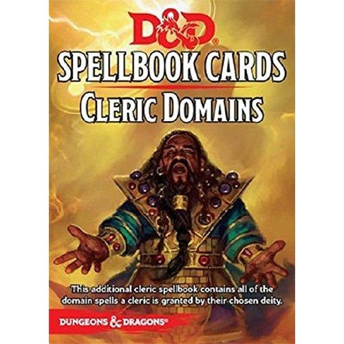 Dungeons and Dragons RPG: Cleric Domains Deck (43 cards)