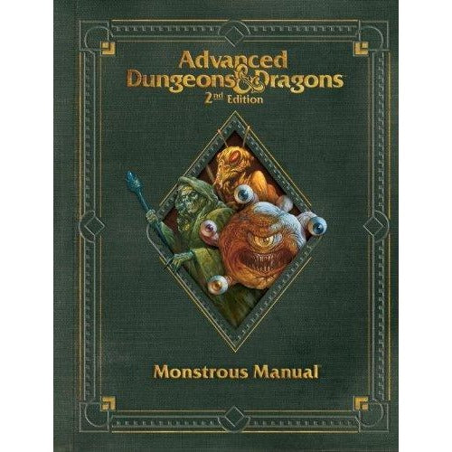 Advanced Dungeons and Dragons 2nd Edition: Premium Monstrous Manual Hardcover