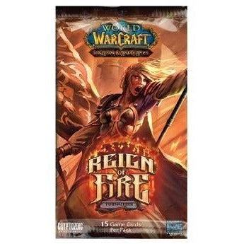 World of Warcraft CCG: Timewalkers Reign of Fire Booster