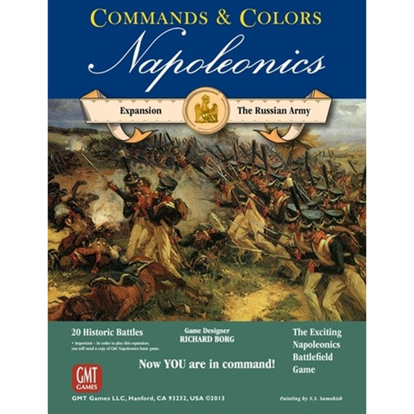 Commands and Colors: Napoleonics Expansion - The Russian Army