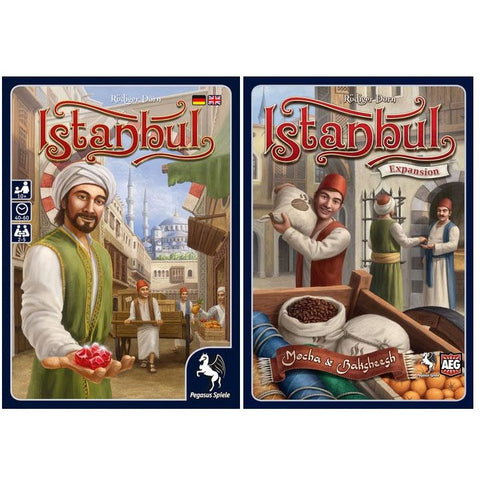 Istanbul Bundle: Core Plus Mocha & Baksheesh Expansion