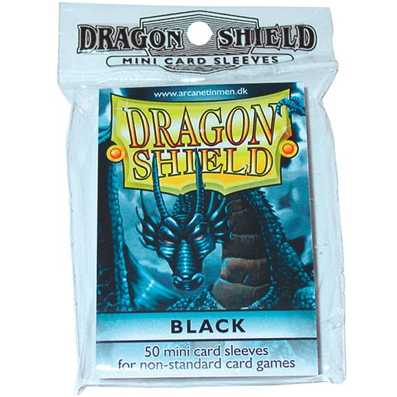Dragon Shields Mini: (50) Black
