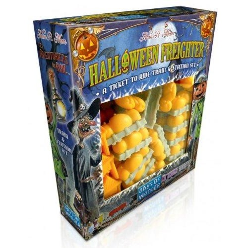 Ticket To Ride: Halloween Freighter Train and Station Set