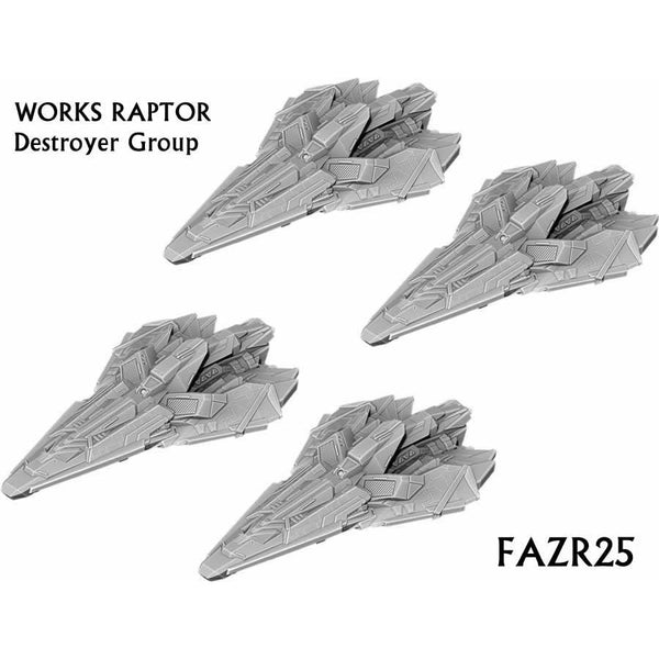 Firestorm Armada: Works Raptor Destroyer Group